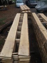 null - Unedged Russian Oak Boards, Average Width of 400 mm