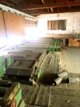 Austria Woodworking Machinery - EWD HDN 600 Sawmill Line.