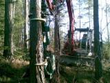 Forstmaschinen - Neu Melfor 350 Harvester Aggregate Schweden
