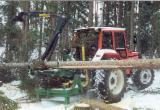 Forstmaschinen - Neu Melfor So40 Anbau-Rückekran Schweden