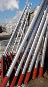 używane aluminiowe kłonice Exte ze stalowymi ławami