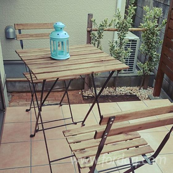 Wooden-Foldable-Bistro-Se--Garden-Table-and-Chairs-Set--Vietnam-3pcs-Garden-Furniture