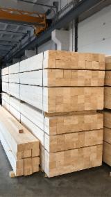 Leimholz Und Paneeler Für Die Bauindustrie - Nutzen Sie Fordaq Für Die Besten Leimholzangebote  - BSH - Gerade Balken, Fichte