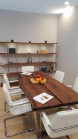 Vender Mesas De Jantar Design De Móveis Madeira Maciça Européia Carvalho, Noz Itália