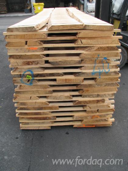 Unedged Beech Lumber