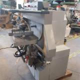 Used Bacci TSG2T Double Round End Tenoning Machine, 1996