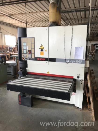 Used-SCM-10S-Sander-Calibrating
