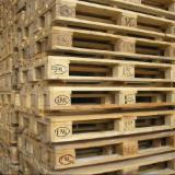 Wooden Pallets For Sale - Buy Pallets Worldwide On Fordaq - Epal Euro Pallet Used/New for sale