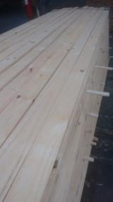 Brazilian Pine Lumber, Rough Sawn, KD, Mill Run Grade
