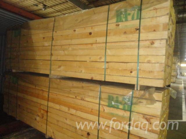 Brazilian Pine lumber ( pinus spp ),  Rough Sawn, KD, Mill Run Grade