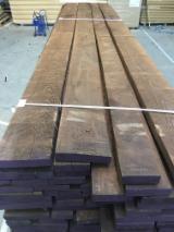 Schnittholz und Leimholz - Besäumte Esche - Thermobehandelt und als weiße Ware