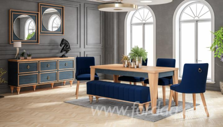Vendo Set Sala Da Pranzo Design Latifoglie Europee Frassino ...