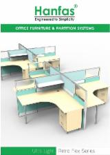 Aluminium Office Furniture And Home Office Furniture - Modular work station system