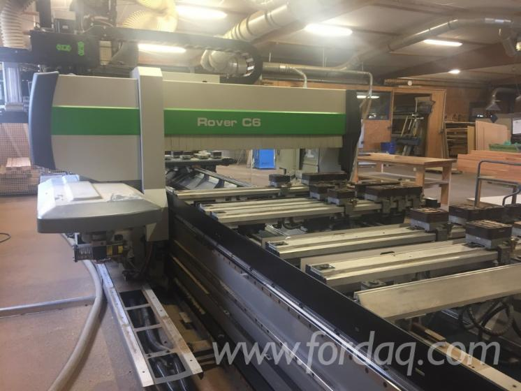 Used-BIESSE-Rover-C6-CNC-Machining-Center-For-Sale