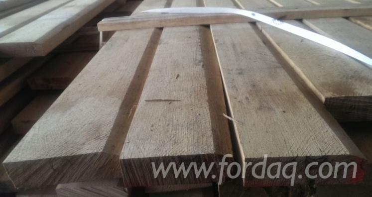 Fresh Sawn Oak Edged Boards, 2600+ mm