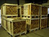 薪材、木质颗粒及木废料 - 劈切薪材 – 未劈切 碳材/开裂原木 榉木, 桦木