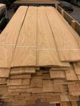 Natural Veneer, White Ash, Flat Cut, Plain