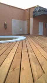 Flooring And Exterior Decking Africa - Solid Teak Decking Boards