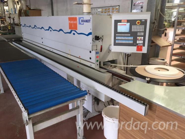Kenar Bantlama Makineleri Homag KDF550 Kullanılmış Fransa Satılık