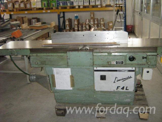Used-SCM-F4-Planer-with-Drilling