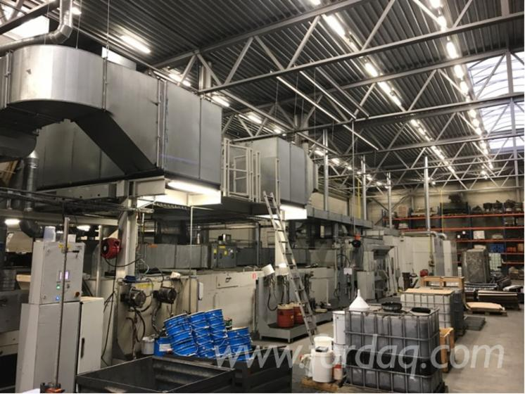 Venjakob TL5 Universal Water-Based Paint/ Spray/ Drying Line