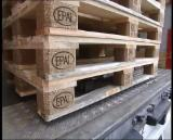 Wood Pallets - Epal Euro Pallets with Certificate New/Used From Ukraine