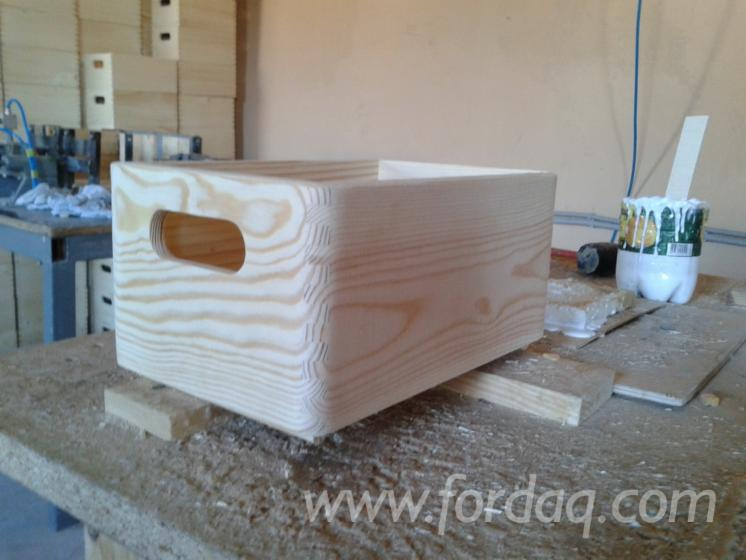 Wooden Containers (Boxes), Universal Application, FSC