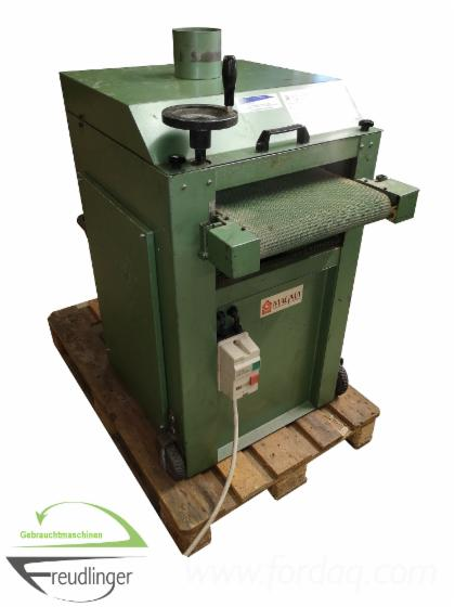 Strukturbürstmaschine