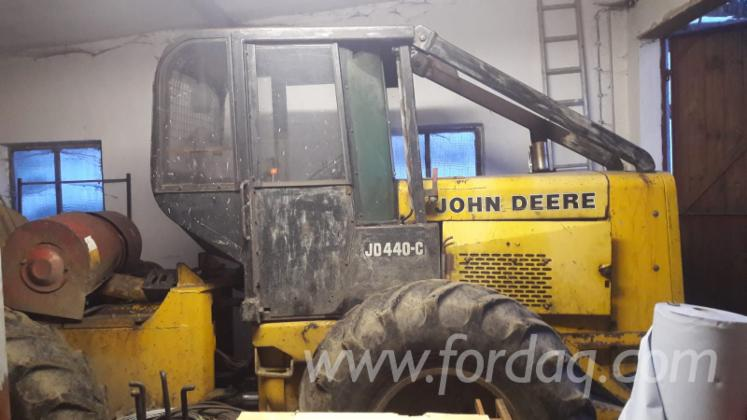 Used John Deere 1986 Skidder For Sale Slovakia