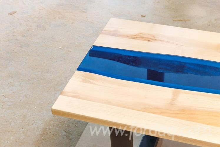 Contemporary Sycamore Maple, Beech, Oak Tables Romania