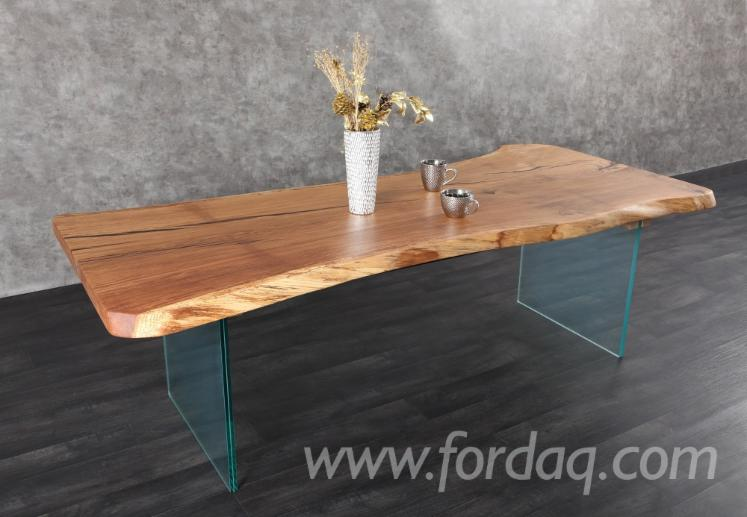 Oak Single Board/ Slab Dining Table