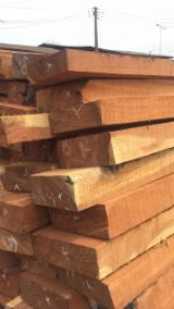 Forest And Logs Asia - Doussie/ Tali/ Teak Square Logs, Fresh Sawn