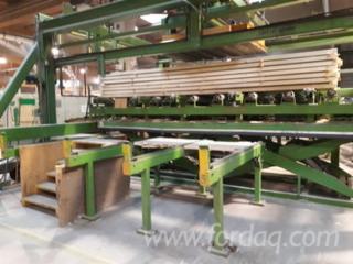 KVH Konstruktions - Produktionslinie massives Bauholz (Leistung ca. 70 000 cbm/Jahr)