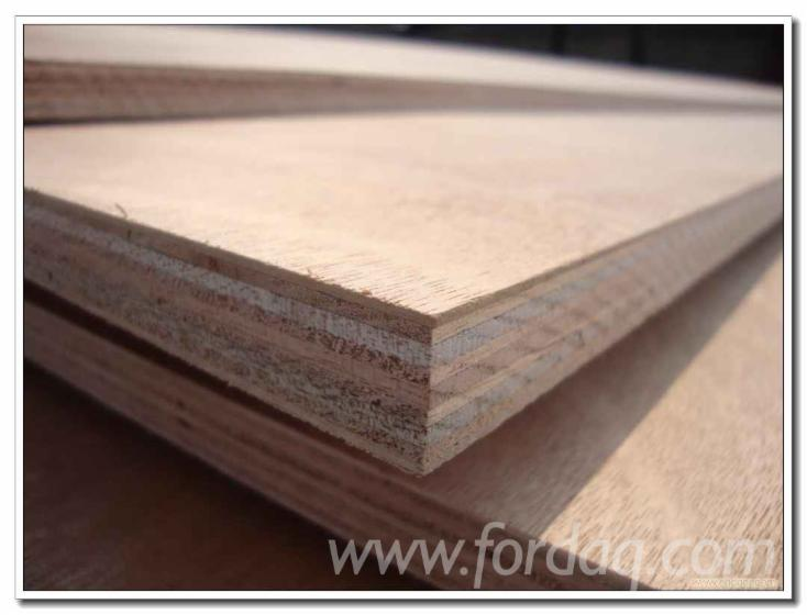 Furniture Grade Okoume/ Bintangor Plywood, E0 Glue