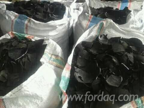 conconuts shell charcoal