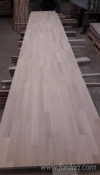 Finger-Jointed panels of Beech and Oak