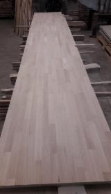 Solid Wood Panels Beech - Beech/Oak Finger-Jointed Solid Panels, 15-45 mm