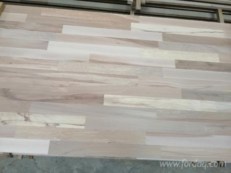 Beech/Oak Finger-Jointed Solid Panels, 15-45 mm