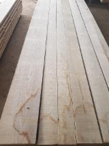 KD 18-20% White Ash Edged Planks, 26; 32; 38 mm