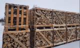 薪材、木质颗粒及木废料 - 劈切薪材 – 未劈切 碳材/开裂原木 白蜡树 , 鹅耳枥, 橡木