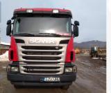 Oprema Za Šumu I Žetvu - Kamion Za Prevoz Kraćih Stabala Scania Polovna 2012 Rumunija