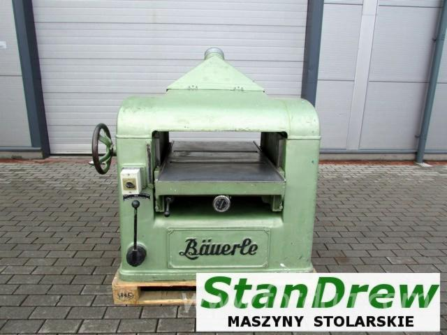Used-Bauerle-1995-Surfacing-And-Thicknessing-Planer---2-Side-For-Sale