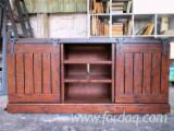 Tv Cabinets Living Room Furniture - Solid Oak - TV Cabinet Living Room Furniture