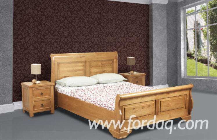 Pacino Oak, Double Wooden Bedroom Furniture.