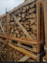 Ogrevno Drvo - Drvni Ostatci - Smeđi Jasen, Grab, Hrast Drva Za Potpalu/Oblice Cepane FSC Litvanija