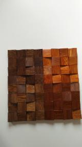Find best timber supplies on Fordaq - Wall wood 3D panel - Wood Rock