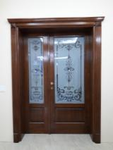 Holzkomponenten, Hobelware, Türen & Fenster, Häuser - Europäisches Laubholz, Türen, Massivholz, Eiche