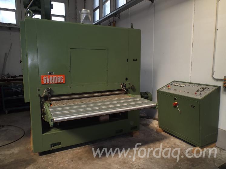Used-STEMAC-LCRTV-1350-1990-Belt-Sander-For-Sale