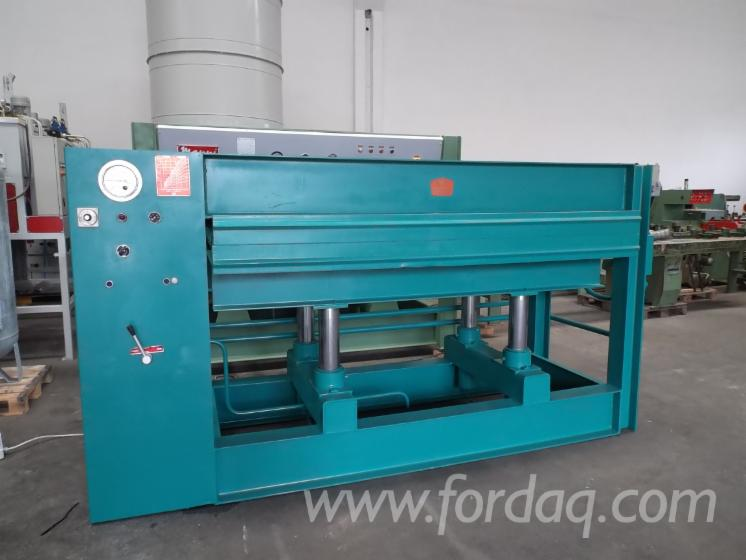 Used-ITALGERMAS-L--MEC-1988-Hand-Fed-Veneering-Presses-For-Flat-Surfaces-For-Sale