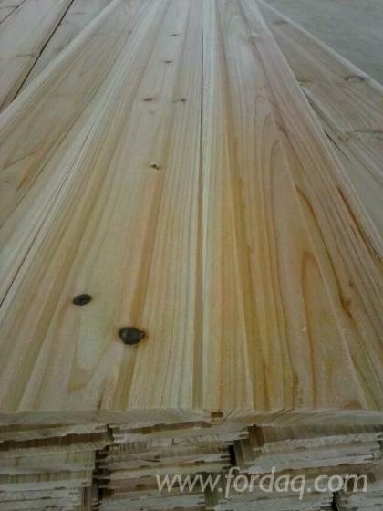 Interior/ Exterior Wall Panelling, Asian Softwood, 10 x 100 mm